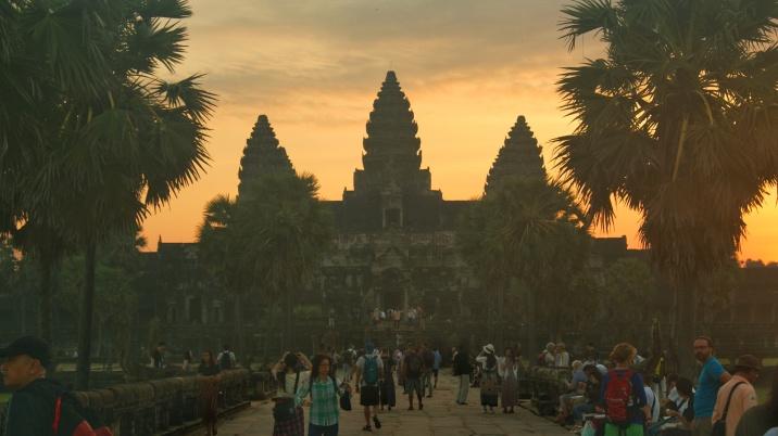 Angkor Wat all'alba