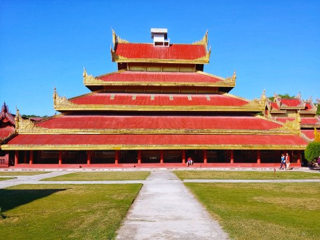 La residenza reale a Mandalay
