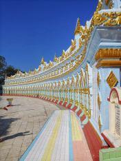 Dettaglio di strutture in cima alla Collina Mandalay